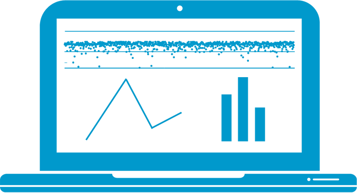 Visualisierung und Reporting icon